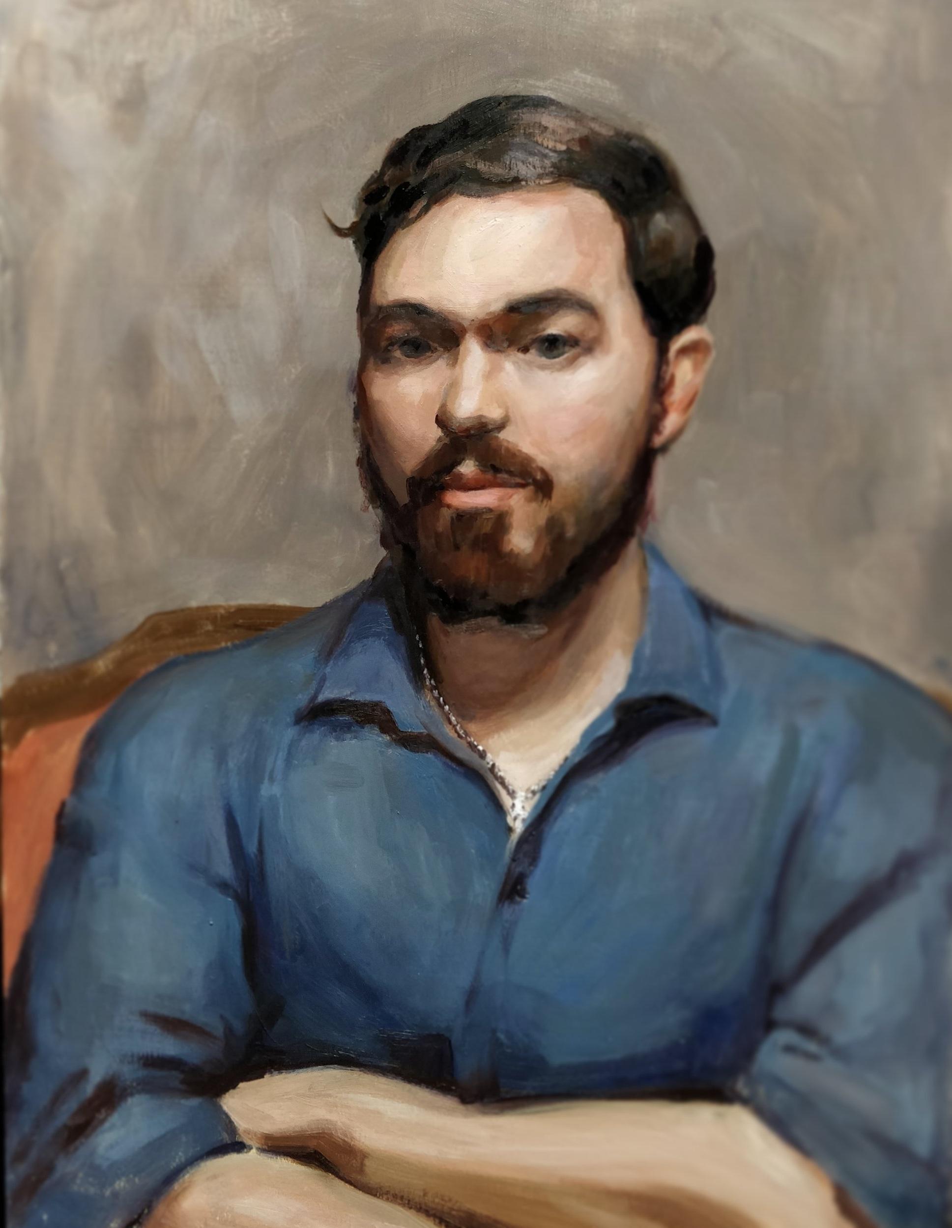 Portrait Study, Devin