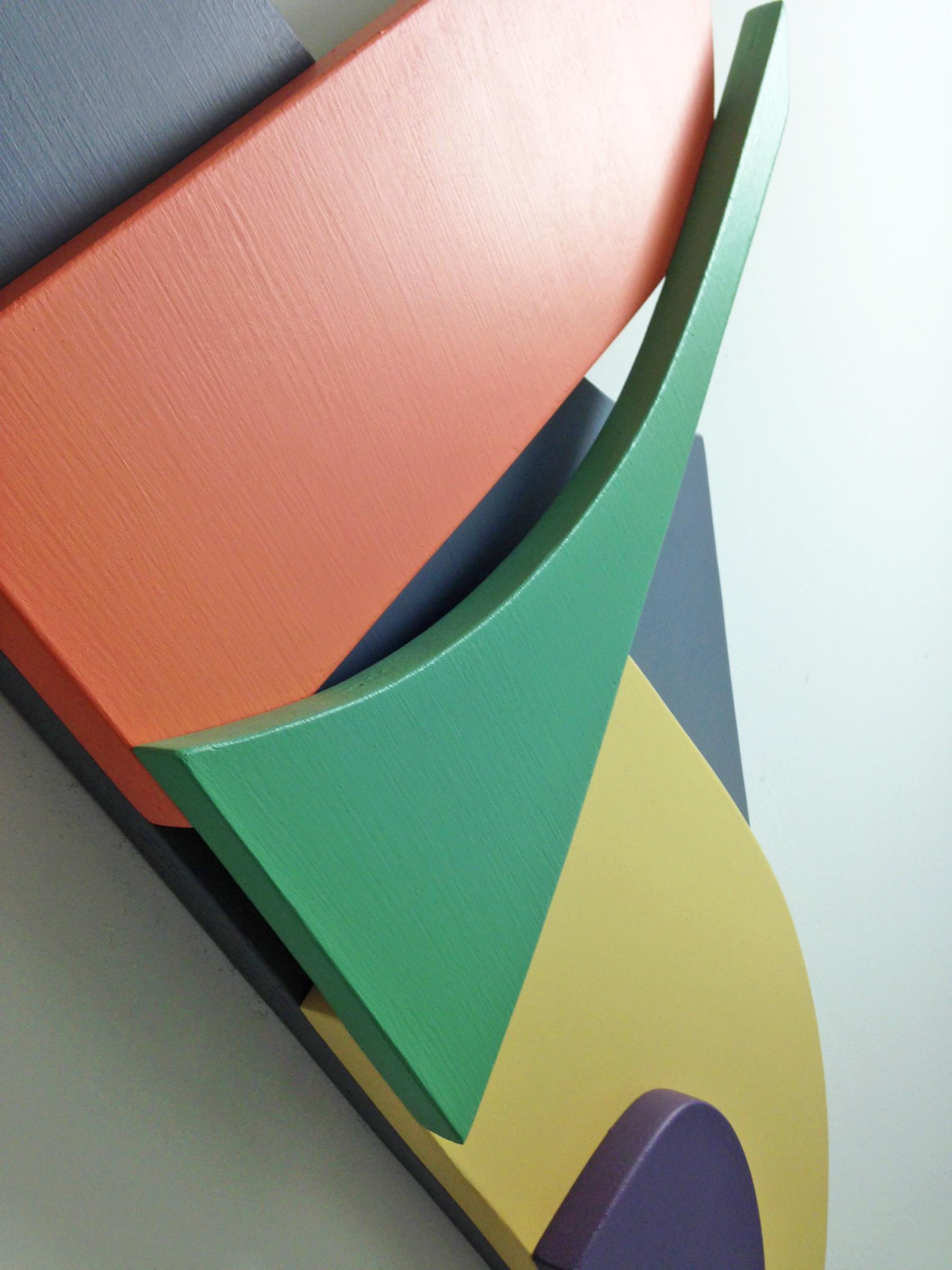 Detail of  Five Color Modern Landscape .