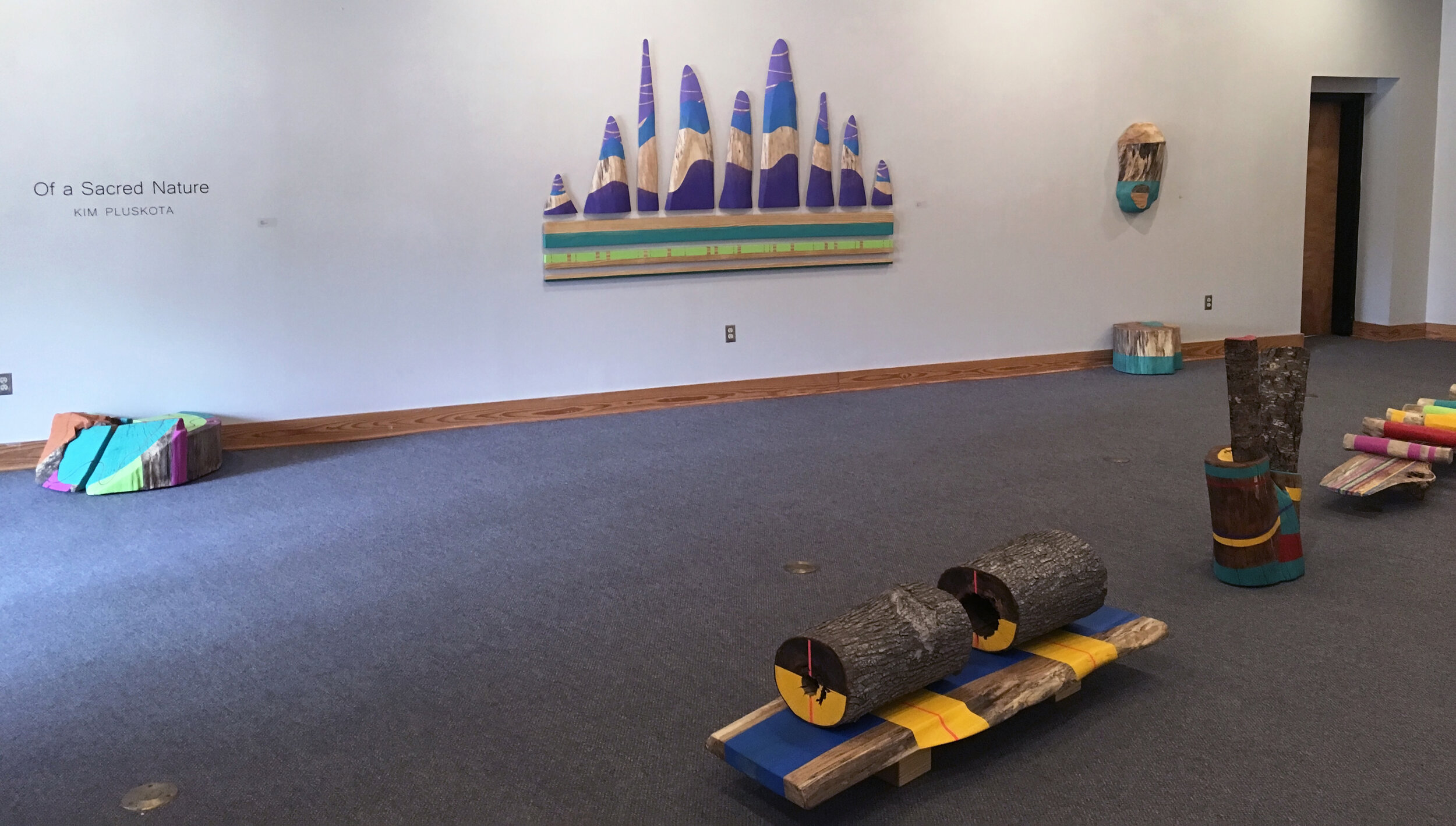 View 1 of Eula Bass Lewis Gallery space