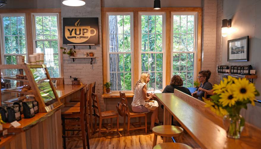 YUP Coffee Roasters. Photo by Daily Hampshire Gazette Staff/Carol Lollis