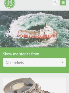 GE Responsive Design