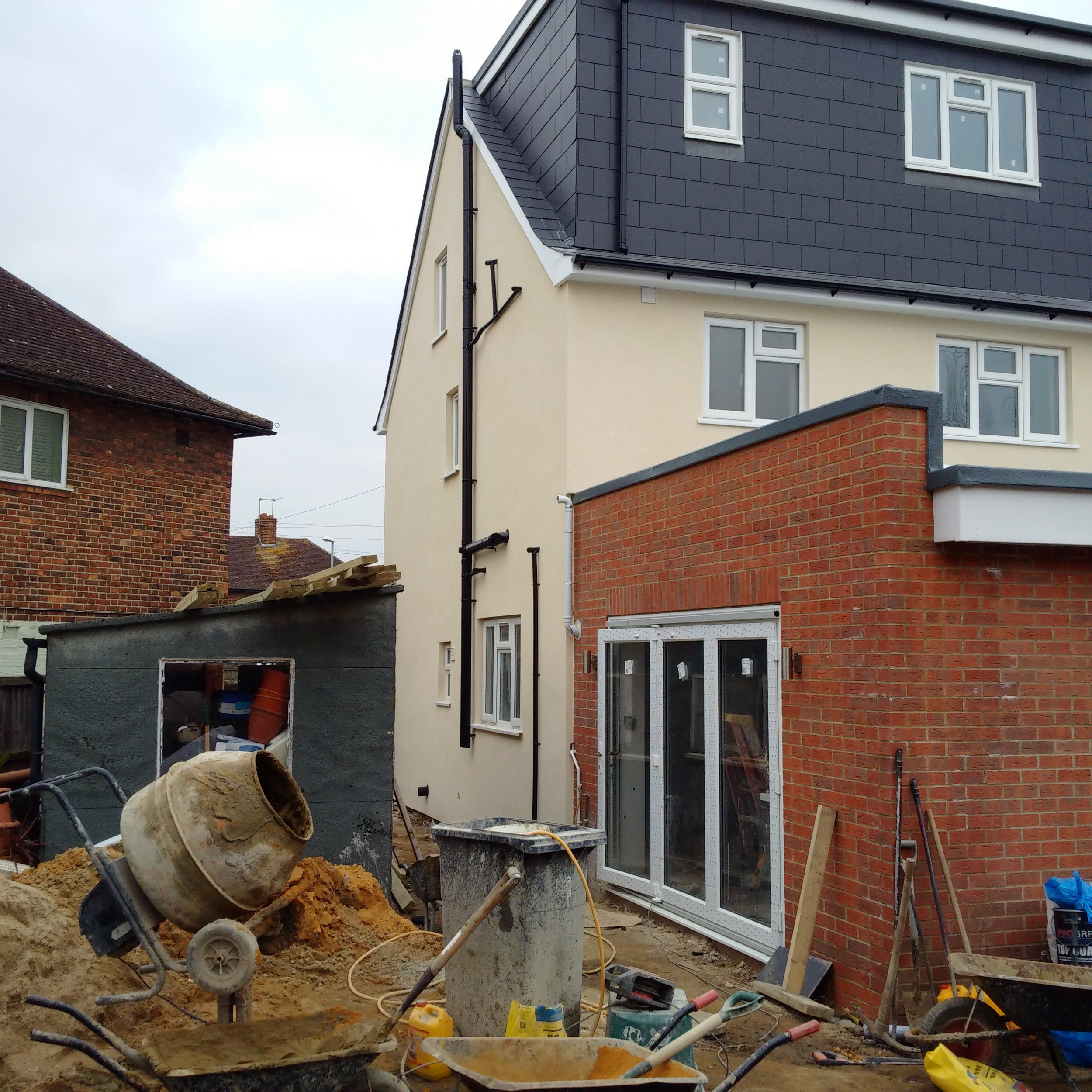 Loft and rear extension during construction stage.jpg