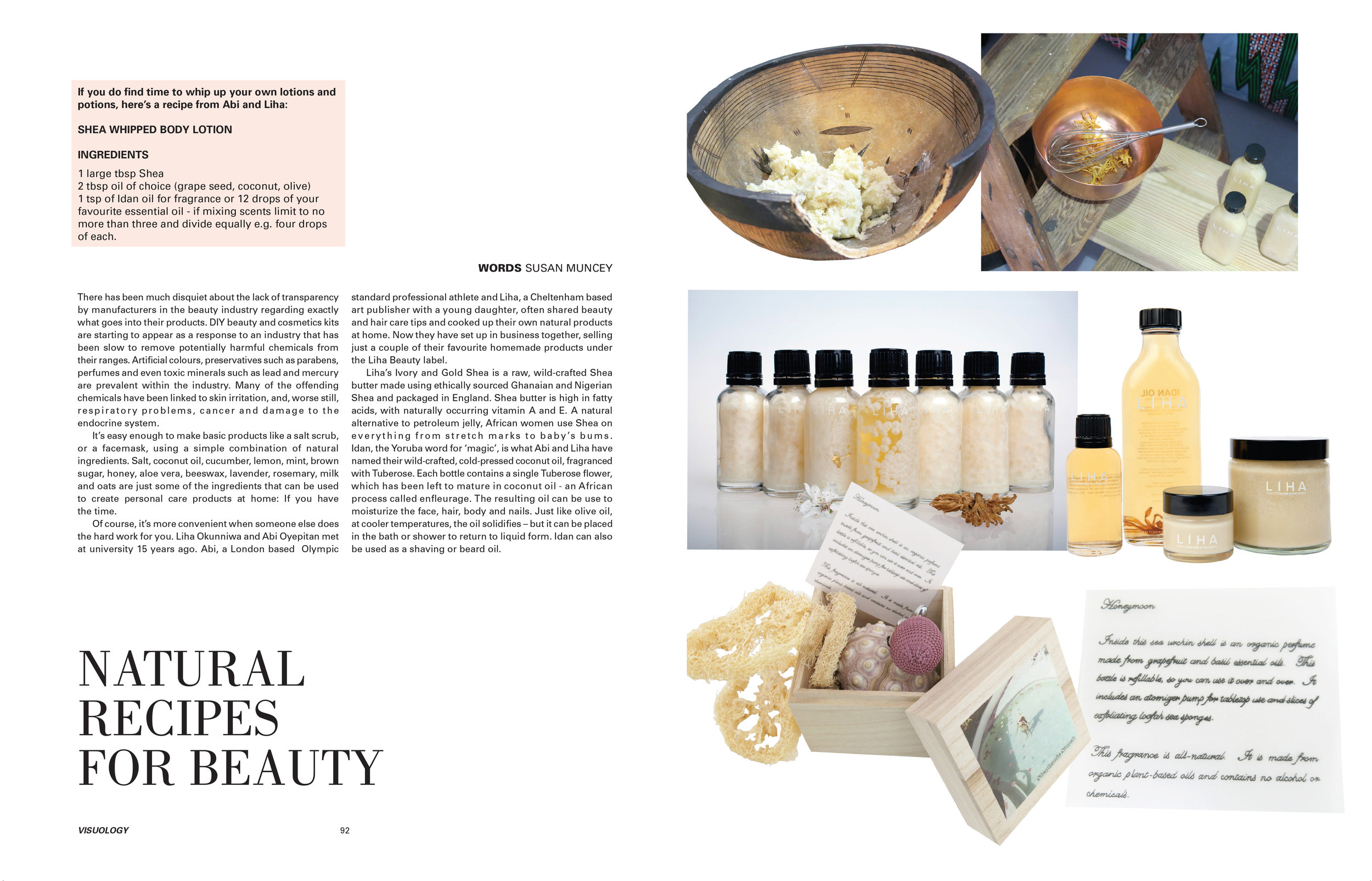 Sustainable Beauty - Handmade, eco-friendly and natural bath, body and wellbeing products