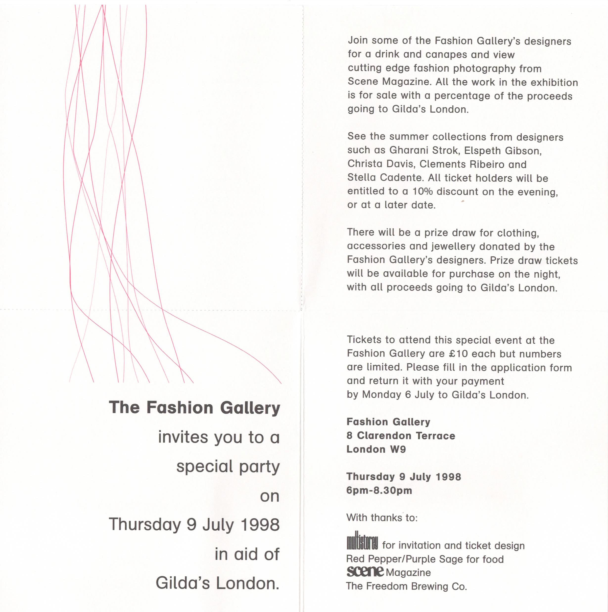 Fund raising event for Gilda's Club London at Fashion Gallery.jpg