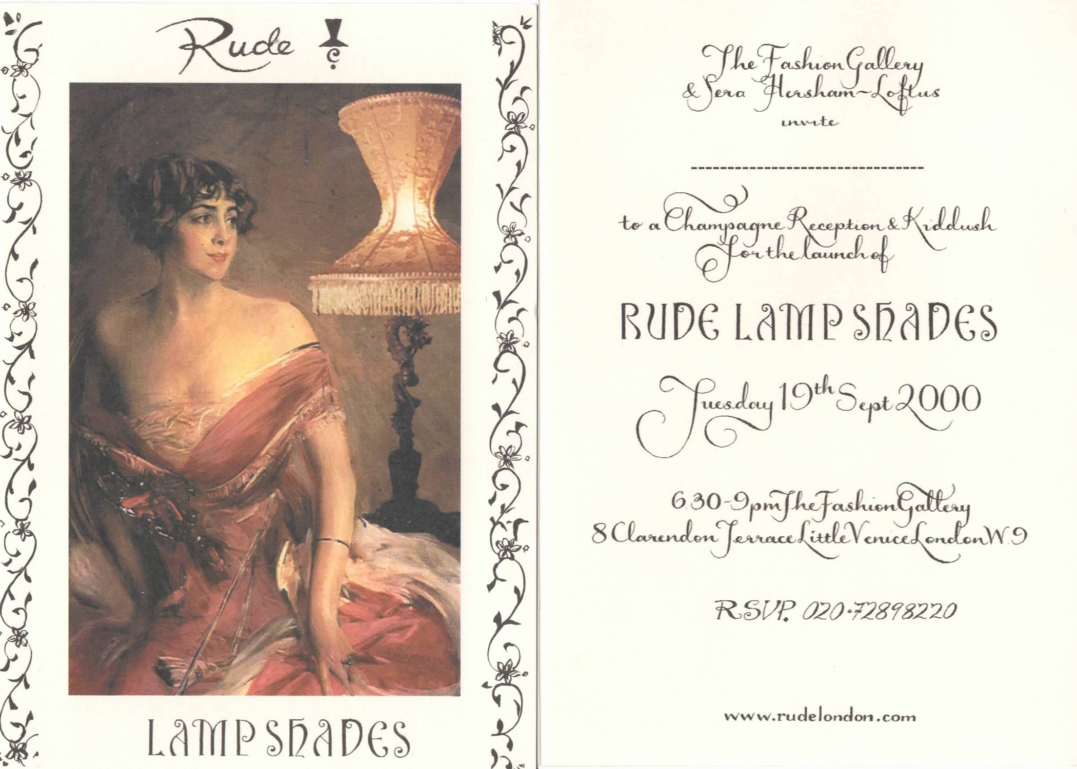 Rude lampshades exhibition at fashion gallery.jpg
