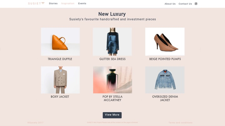 - A new platform for Kering Corporation companies to re-educate consumers via storytelling and manufacturing provenance. Created for Kering Corporation as part of a collaboration with London College of Fashion's Centre for Sustainability