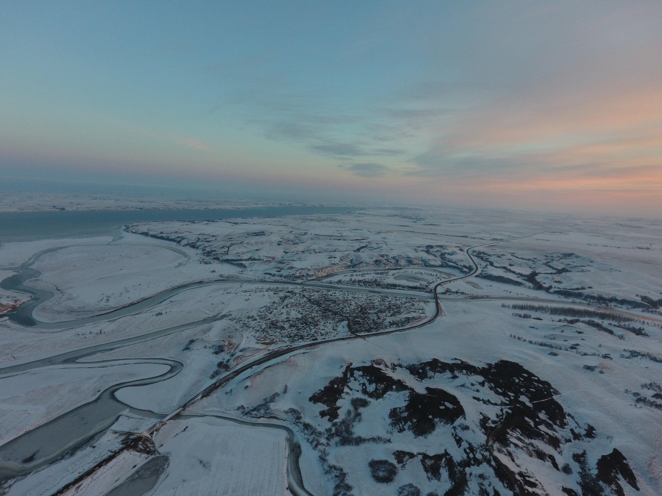 winter camps 2 pink sky.JPG