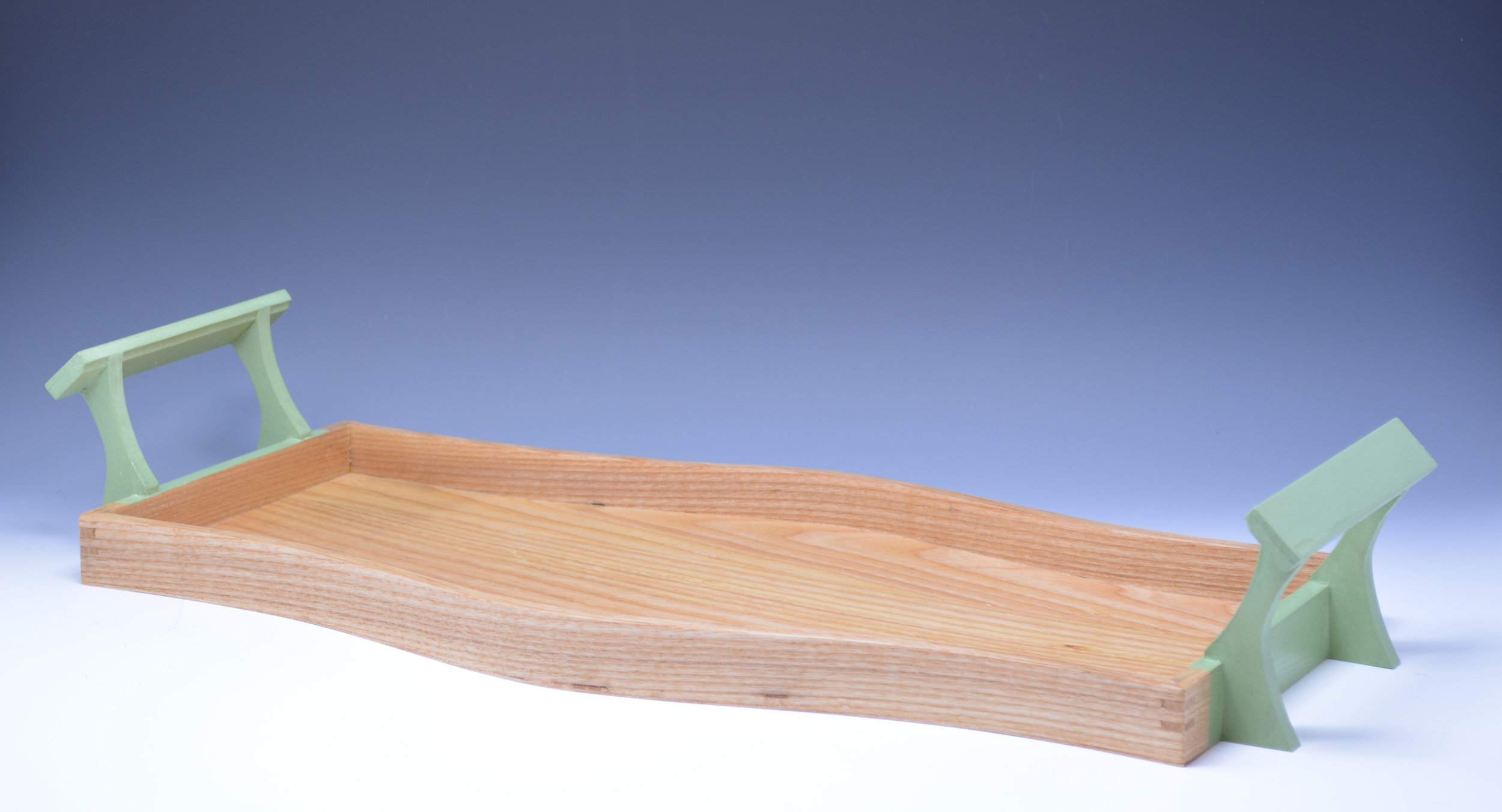 Curved Pistachio Tray