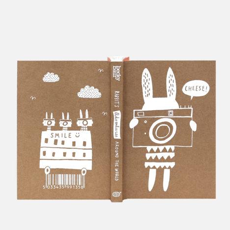 Rabbit's Adventures Around The World Journal