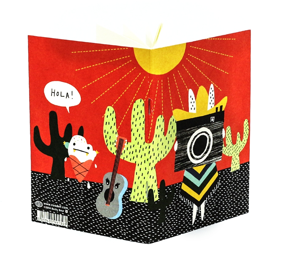 Mexico Notebook with Noodoll