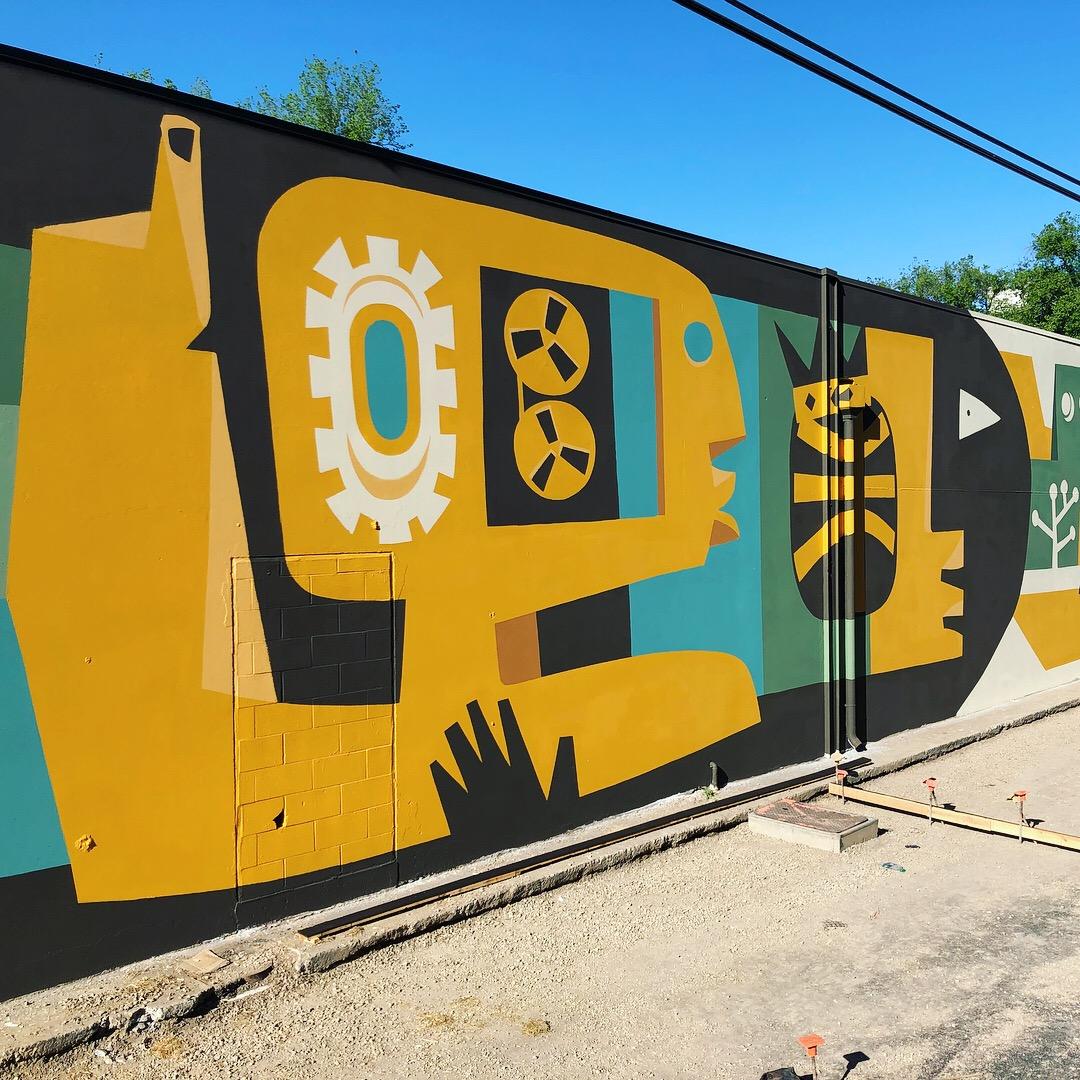 Sound & Vision - 200' x 20' Sacramento, CA Ice Blocks