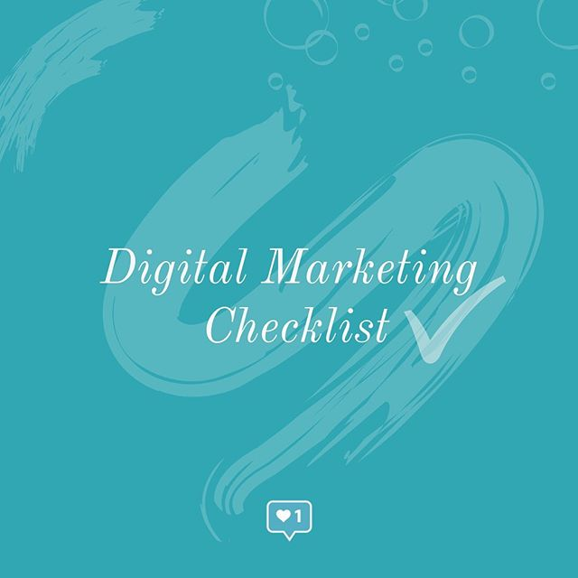 Who doesn't love the satisfying feeling of checking off an item on your to-do list?? It's the best....or pretty close to it.⠀ ⠀ Lucky for you...we have a checklist you'll want to bookmark and come back to! It doesn't matter if you've been in business for years or are just getting started...the following checklist includes your essentials for digital marketing: ⠀ ⠀ ✔️ A website: easy to navigate, clear on branding & messaging and mobile friendly. ⠀ ⠀ ✔️ Social Media: identify where your audience is on social media, pick 2 platforms to start, develop a strategy and goals and be consistent.⠀ ⠀ ✔️ Email marketing: invest time and effort into building your email list + strategy.⠀ ⠀ ✔️ Digital reputation: this depends on your business but could include Google business, Trip Advisor, Yelp and more! ⠀ ⠀ ✔️ SEO: search engine optimization matters and optimizing your content with keywords is a good place to start.⠀ ⠀ ✔️ Content: think blogs, case studies, testimonials, downloaded resources, videos...content is QUEEN. 👑 ⠀ ⠀ ✖️BONUS: if you have the budget, research where your audience is and invest a bit of money in advertising to them to launch your brand, kick start a campaign or drive a launch.