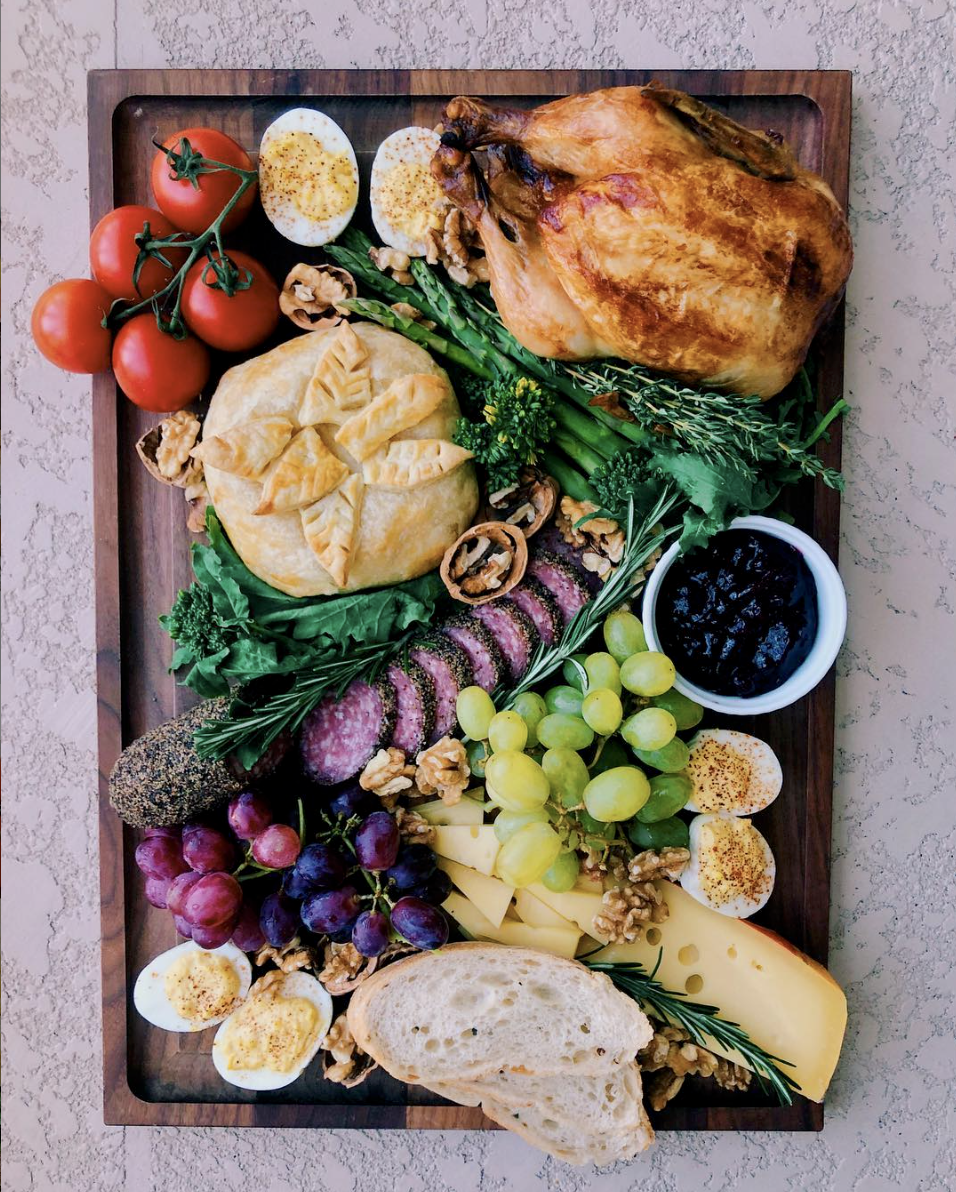 """That """"Winter Feast"""" Plate"""