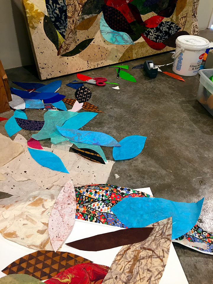 This is what my studio looks like right now!