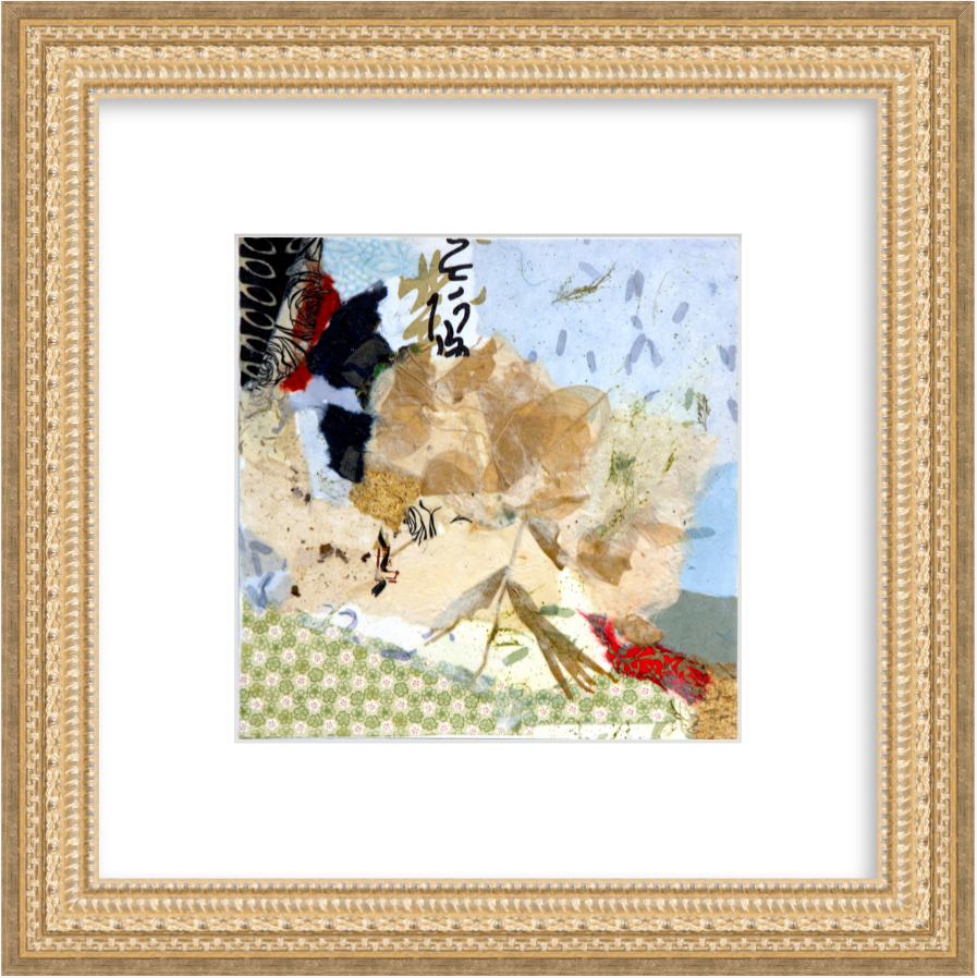 "True Nature, Gold Frame, Image 9"" x 9"", Frame 17"" x 17"", $160"