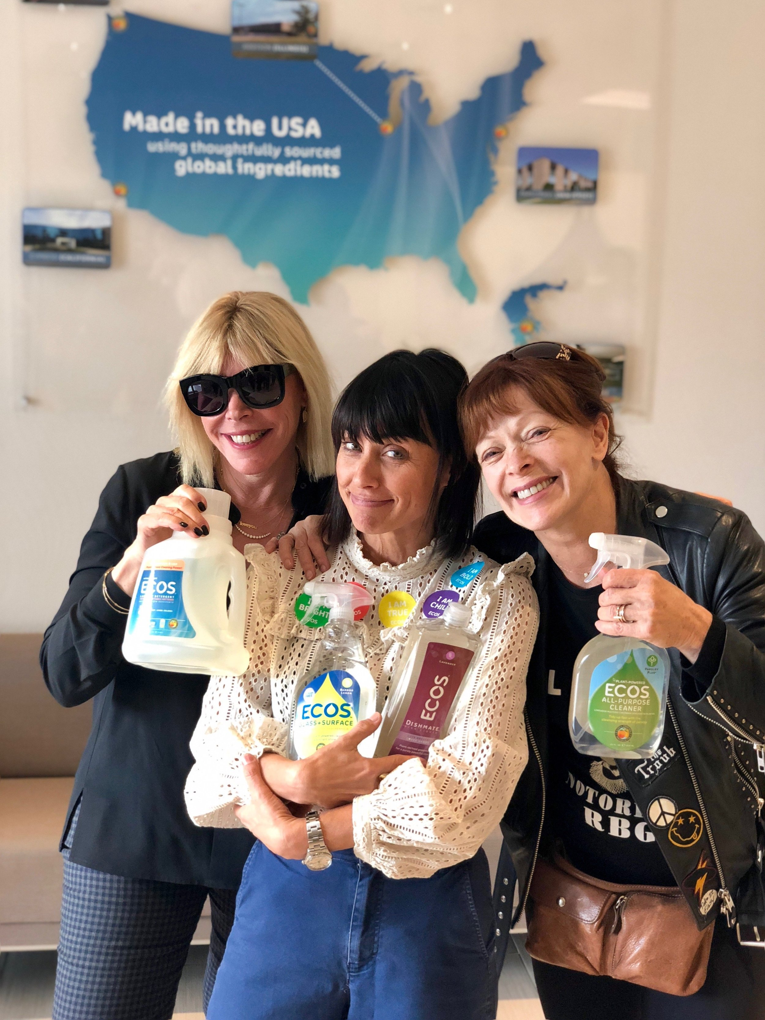 EMA CEO Debbie Levin with Board Members Frances Fisher and Constance Zimmer