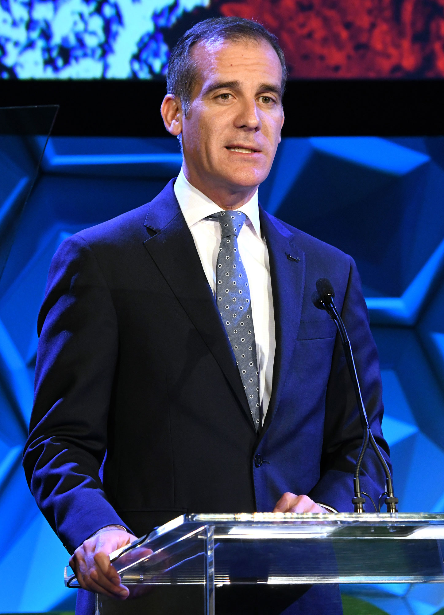 Los Angeles Mayor Eric Garcetti Speaks at IMPACT