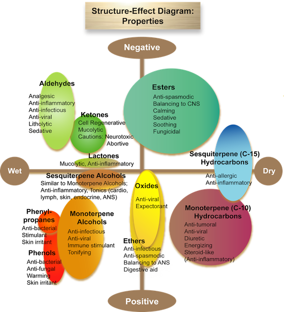 Structure-Effect Diagram: Properties ©Jimm Harrison
