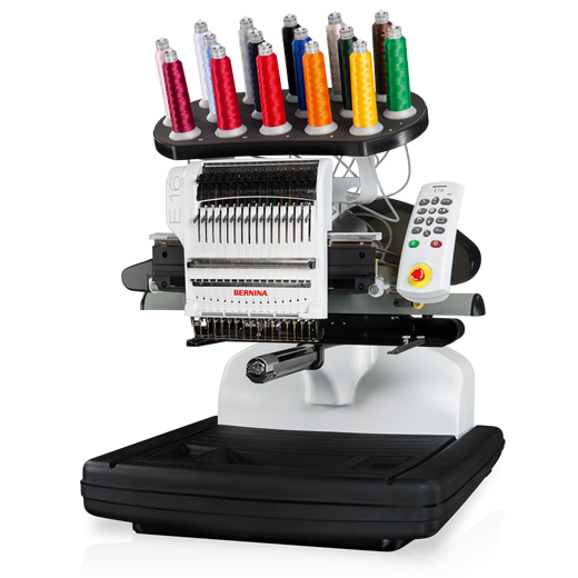 The Bravo - Executive Press utilizes the Bravo 16 needle embroidery machines to embroider quality designs on apparel, caps, bags and a wide range of textiles beautifully. The Bravo can produce all the embroidery our clients expect.