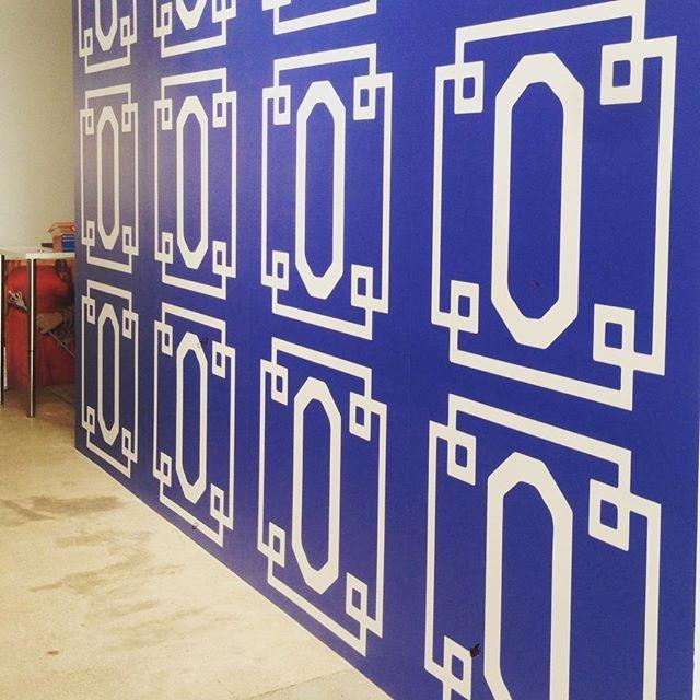 Custom wallpaper at O-Venture Corporate!