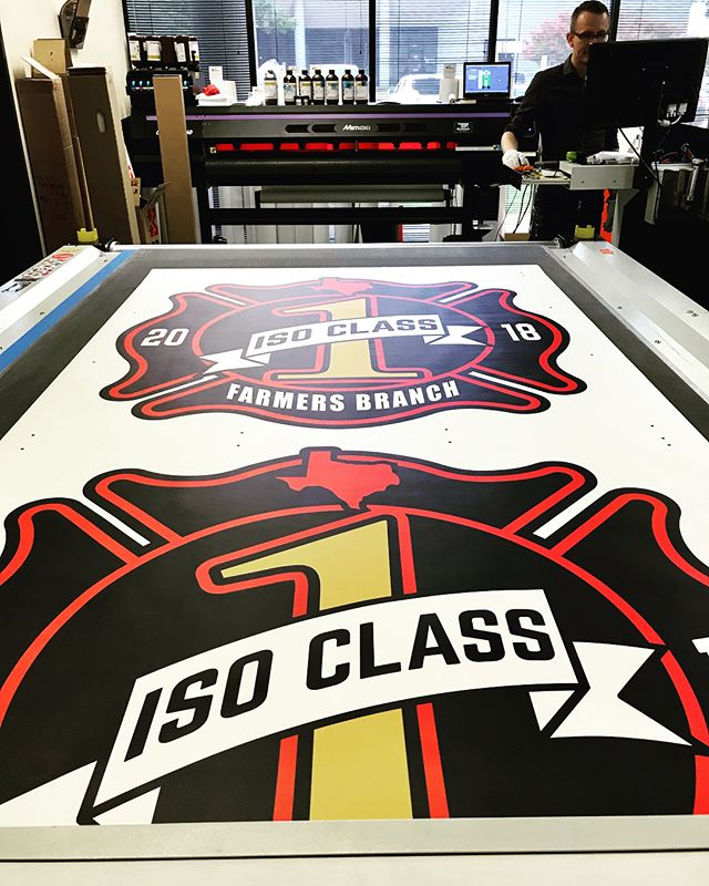 Thank you for keeping us busy! These are wall graphics for Farmers Branch Fire and Rescue! Such a pleasure creating for y'all!