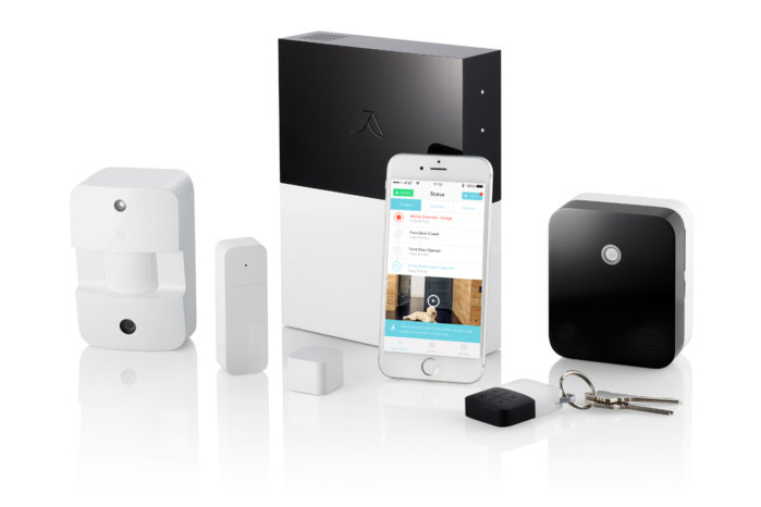 Total home security with no required monthly fees