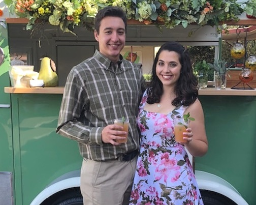Certified bartenders, Nate and Amanda can also be found behind the bar at our events, bringing an element of youthful enthusiasm everywhere they go. -