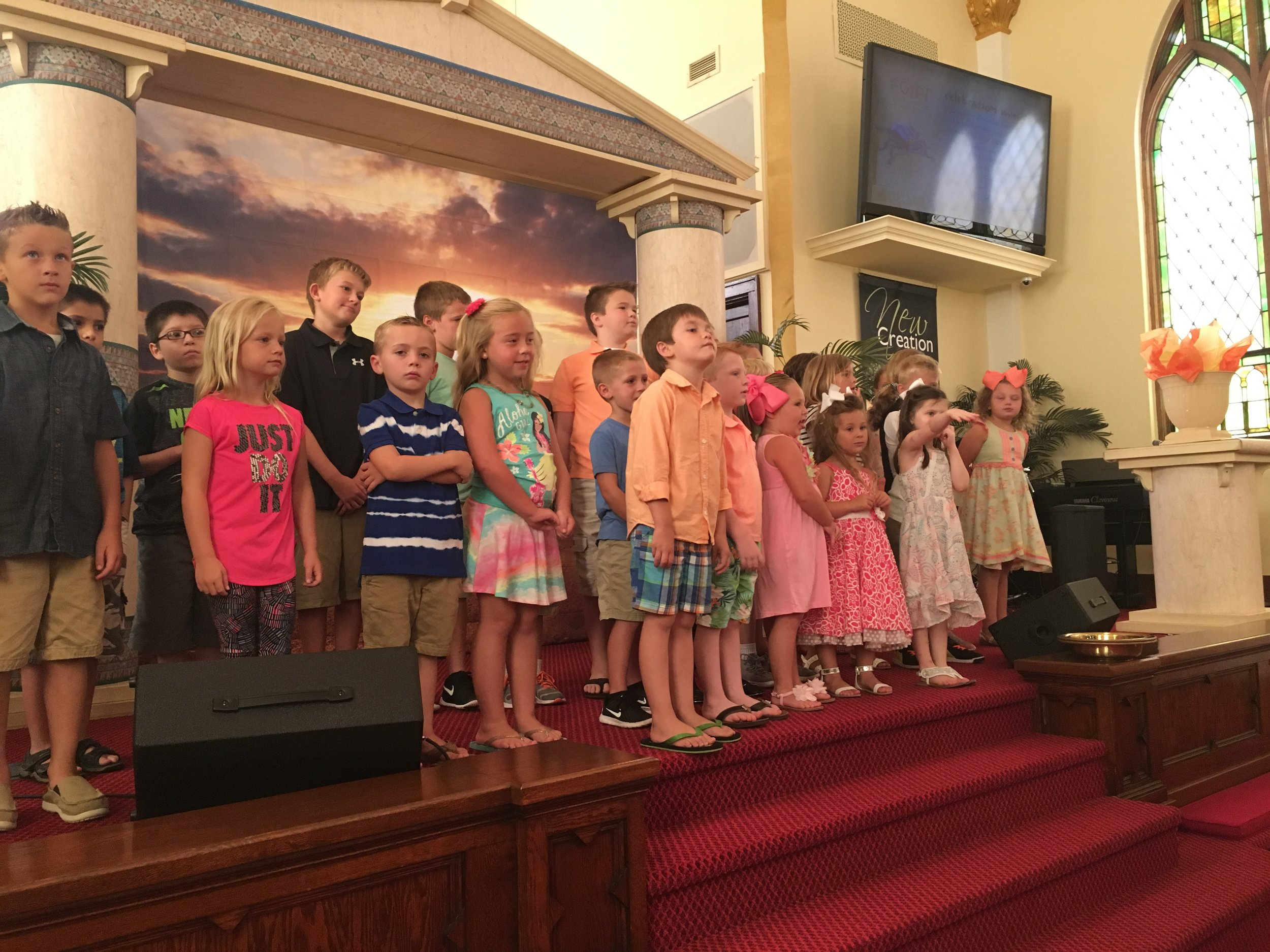 Vacation Bible School - In 2018, Vacation Bible School occurred July 30 through August 3.In 2019, the dates will be July 29 through August 2. Times will be 6:00-8:30p