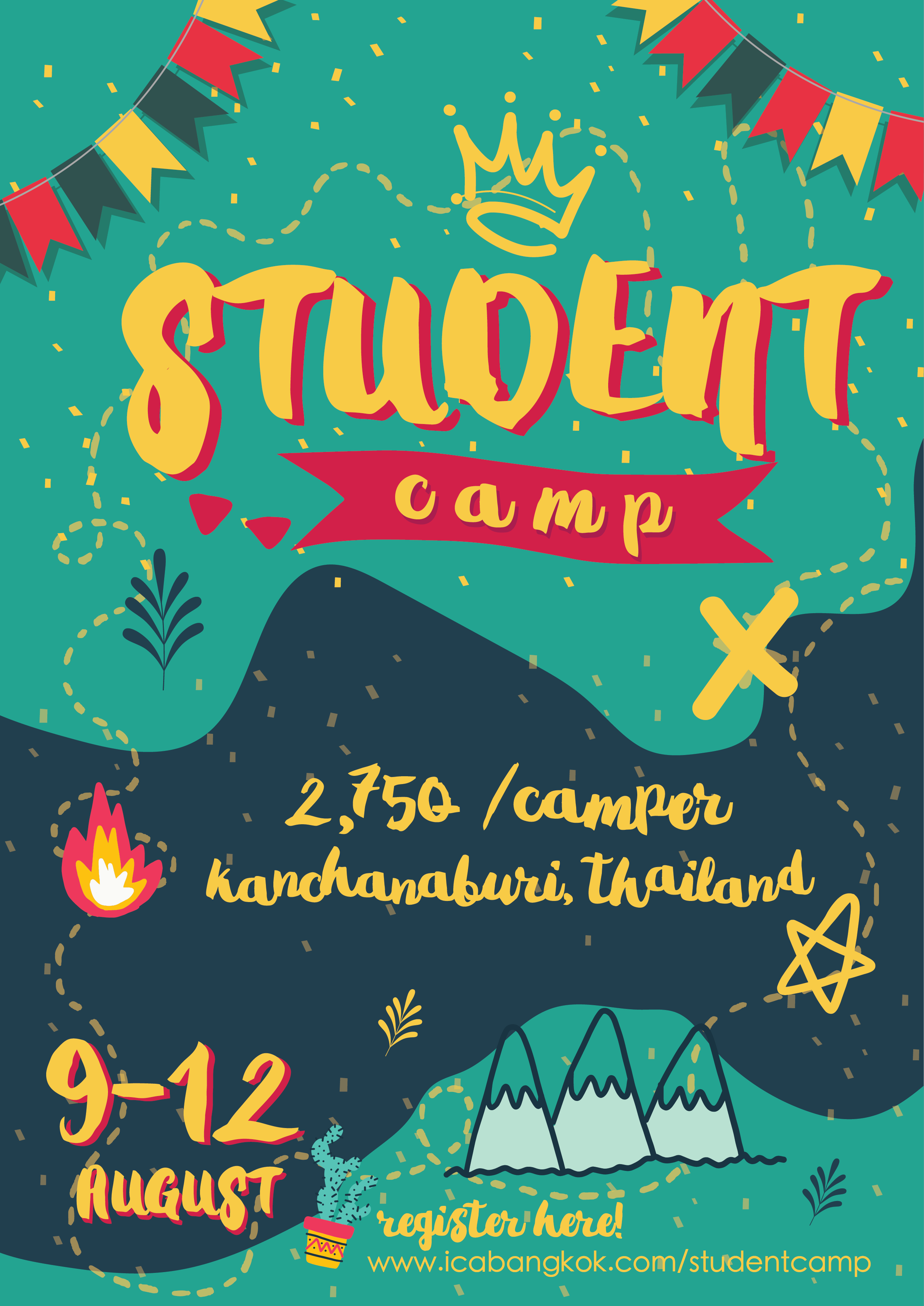 Student Camp Poster