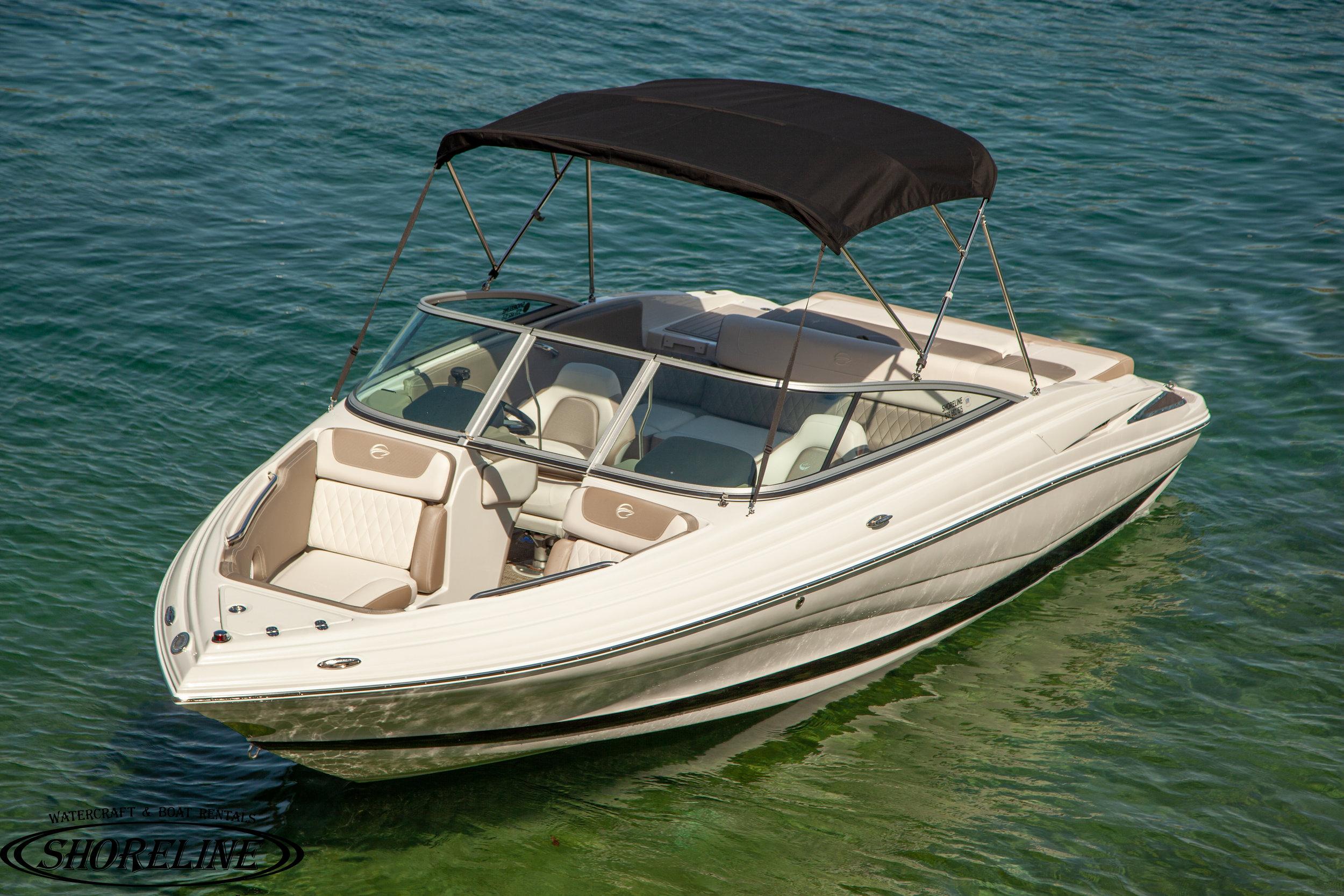 Crownline 215 Rental Boat — Shoreline Watercraft