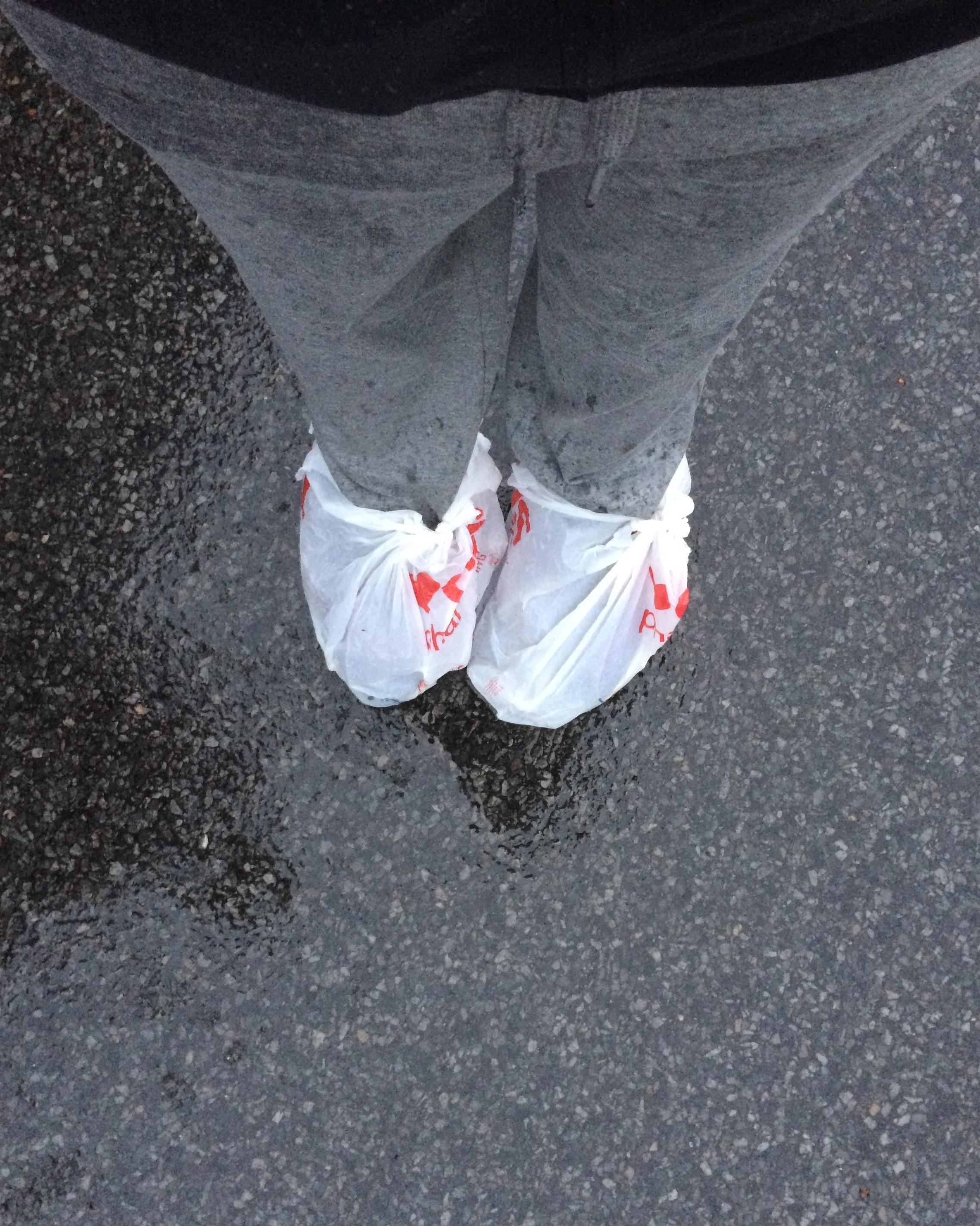 Not as effective as rain boots!