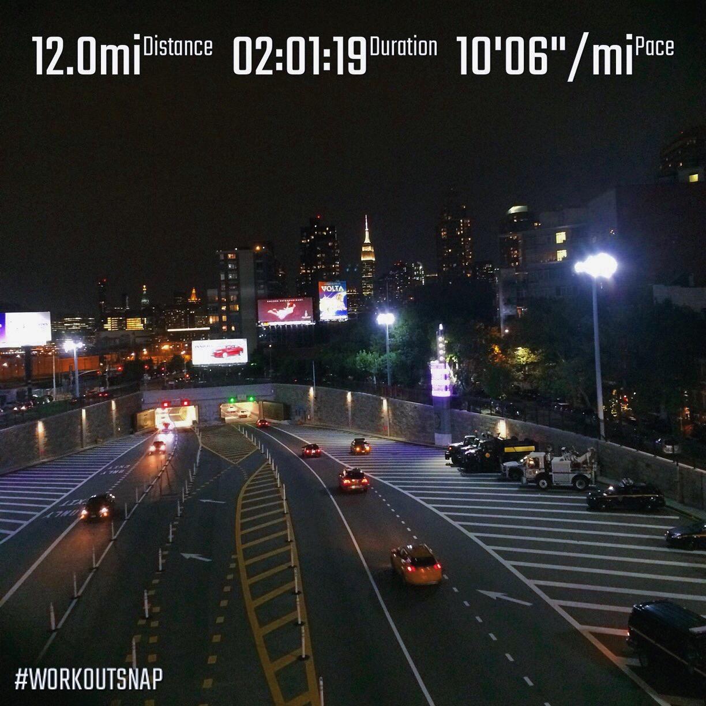 The Pulaski's view of Manhattan isn't half bad...