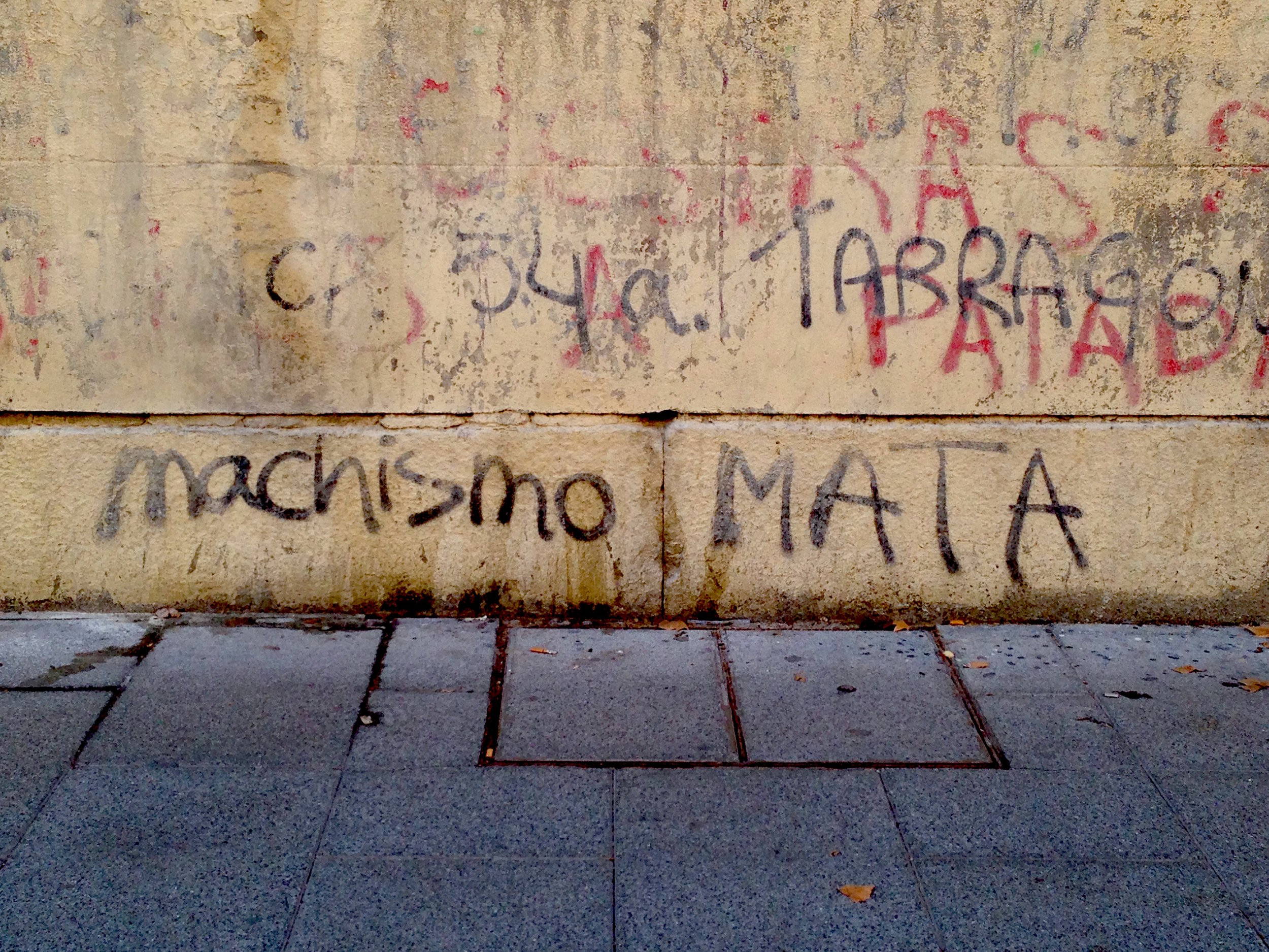 Machismo —sexism or chauvanism— kills.