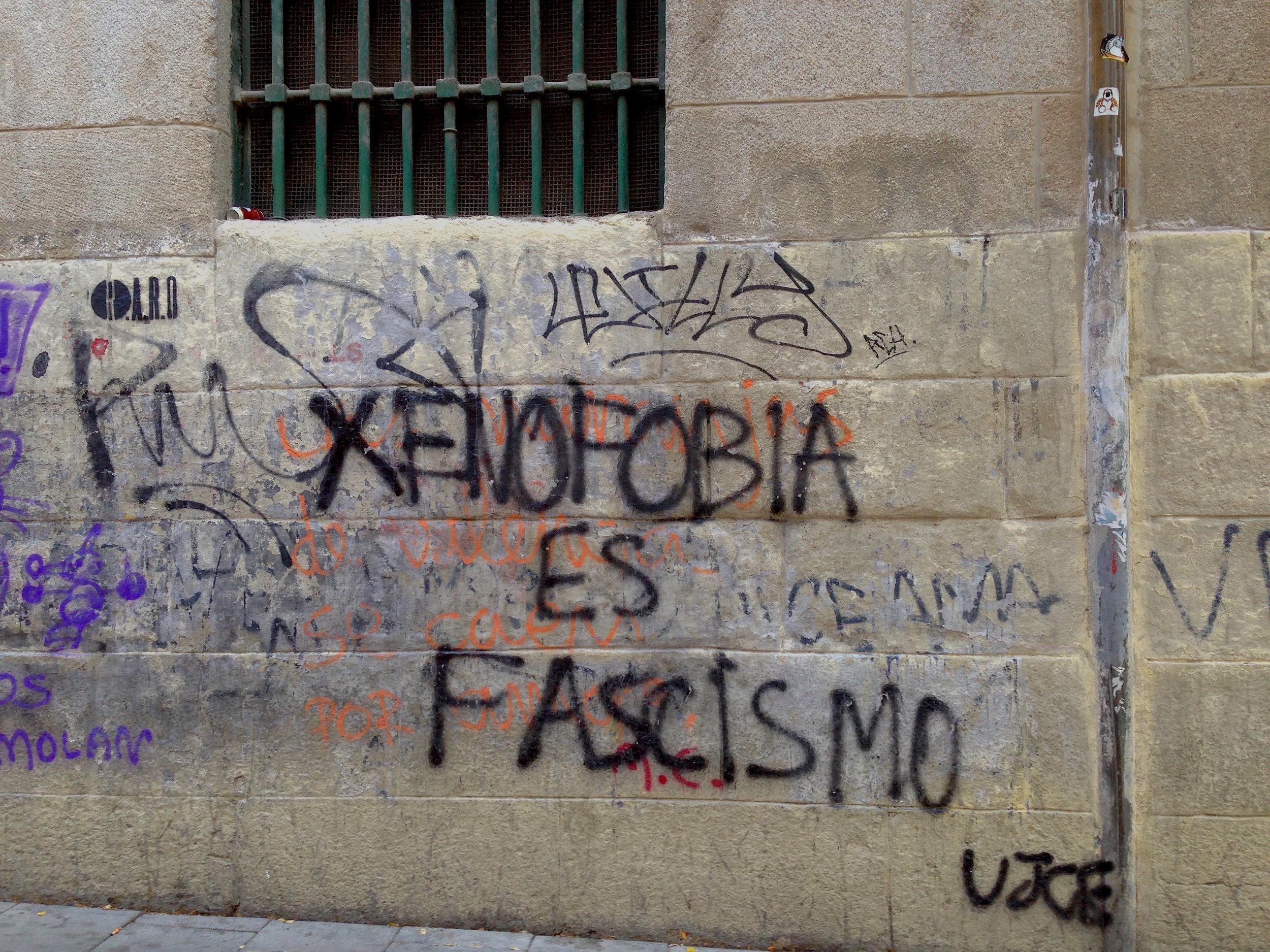 Xenophobia is Fascism.