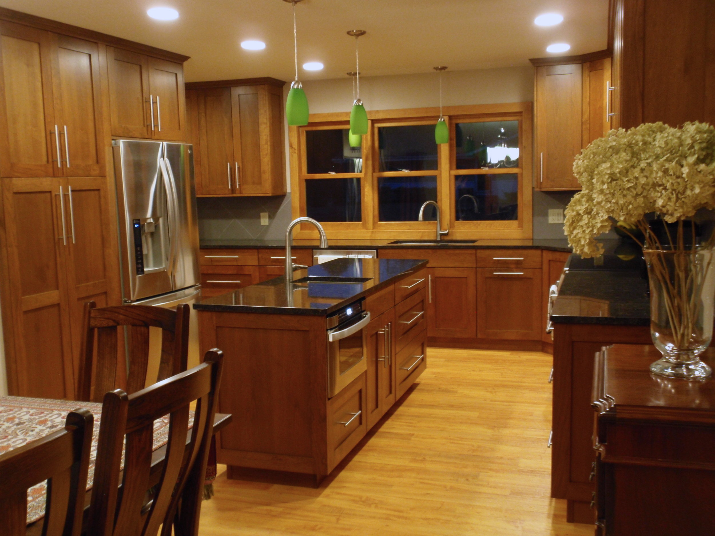 After... A Beautiful kitchen with lots of great storage and function