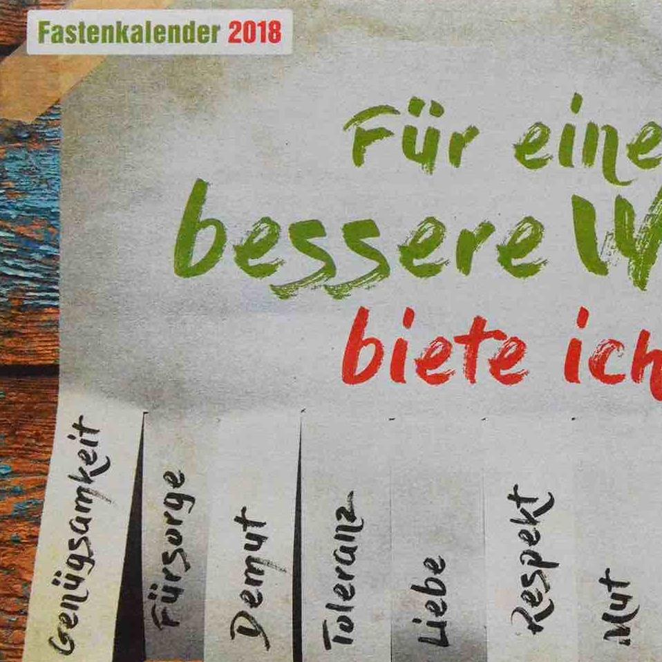 Fastenkalender 2018