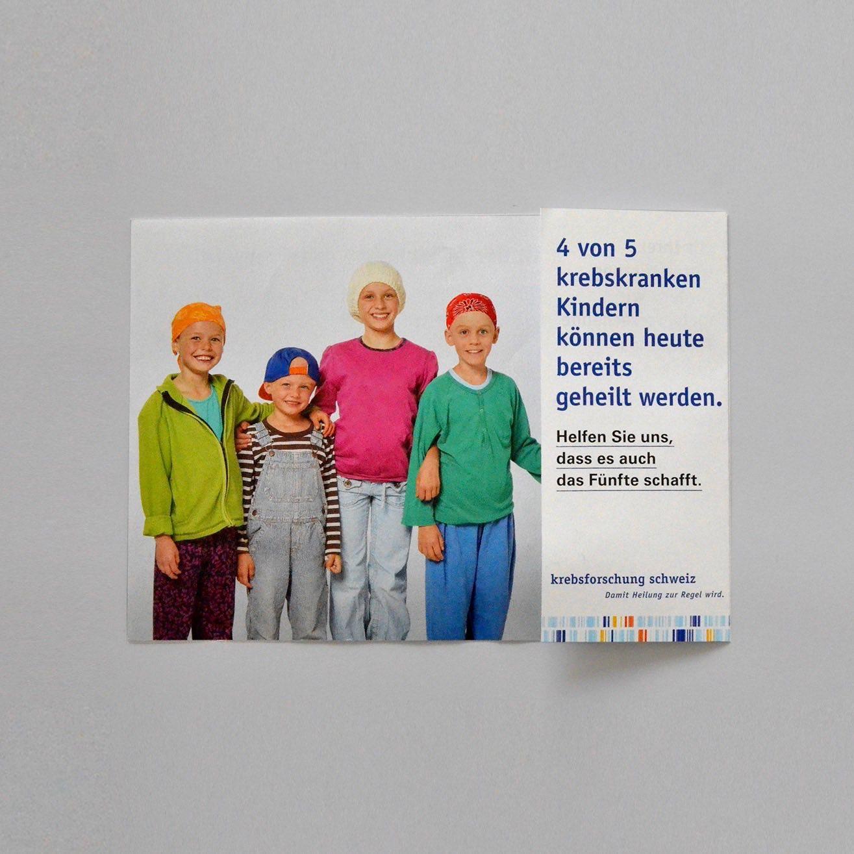 Copy of Krebsforschung Schweiz: Beilage geschlossen Spendermailing November 2017