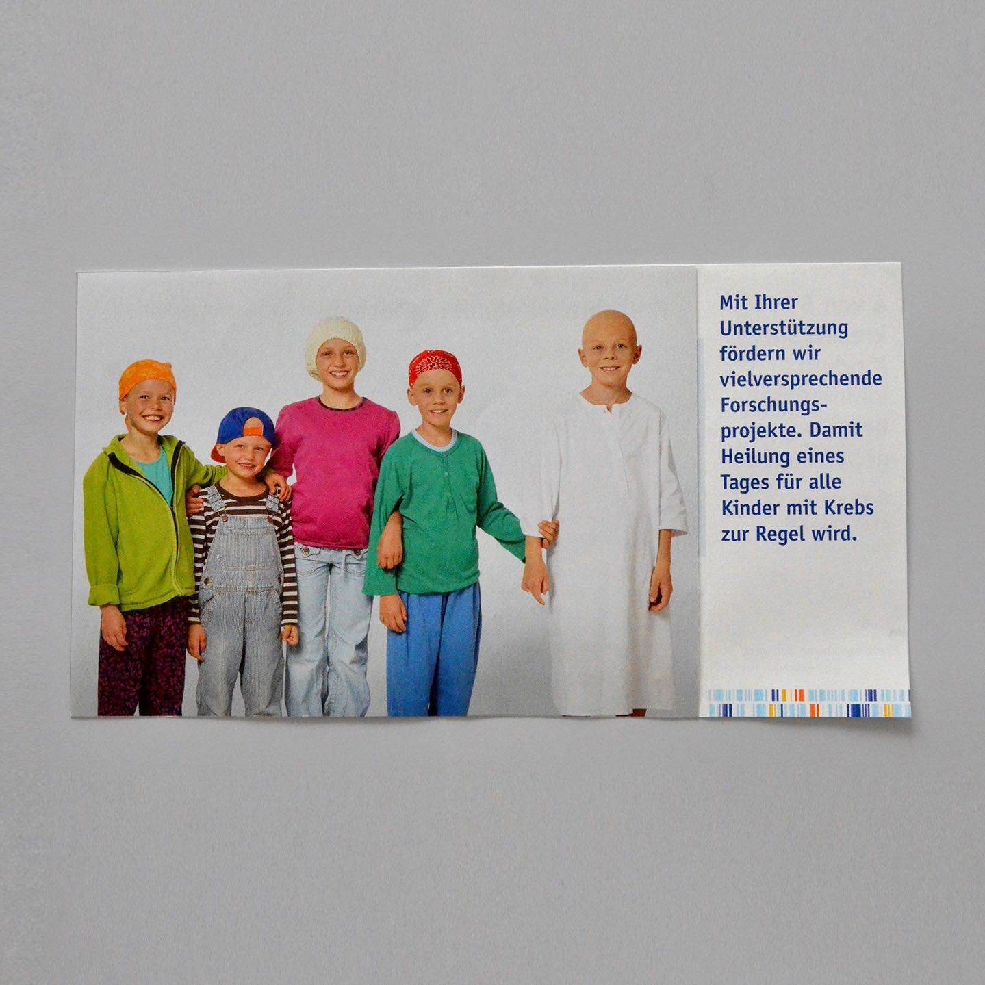 Copy of Krebsforschung Schweiz: Beilage geöffnetSpendermailing November 2017