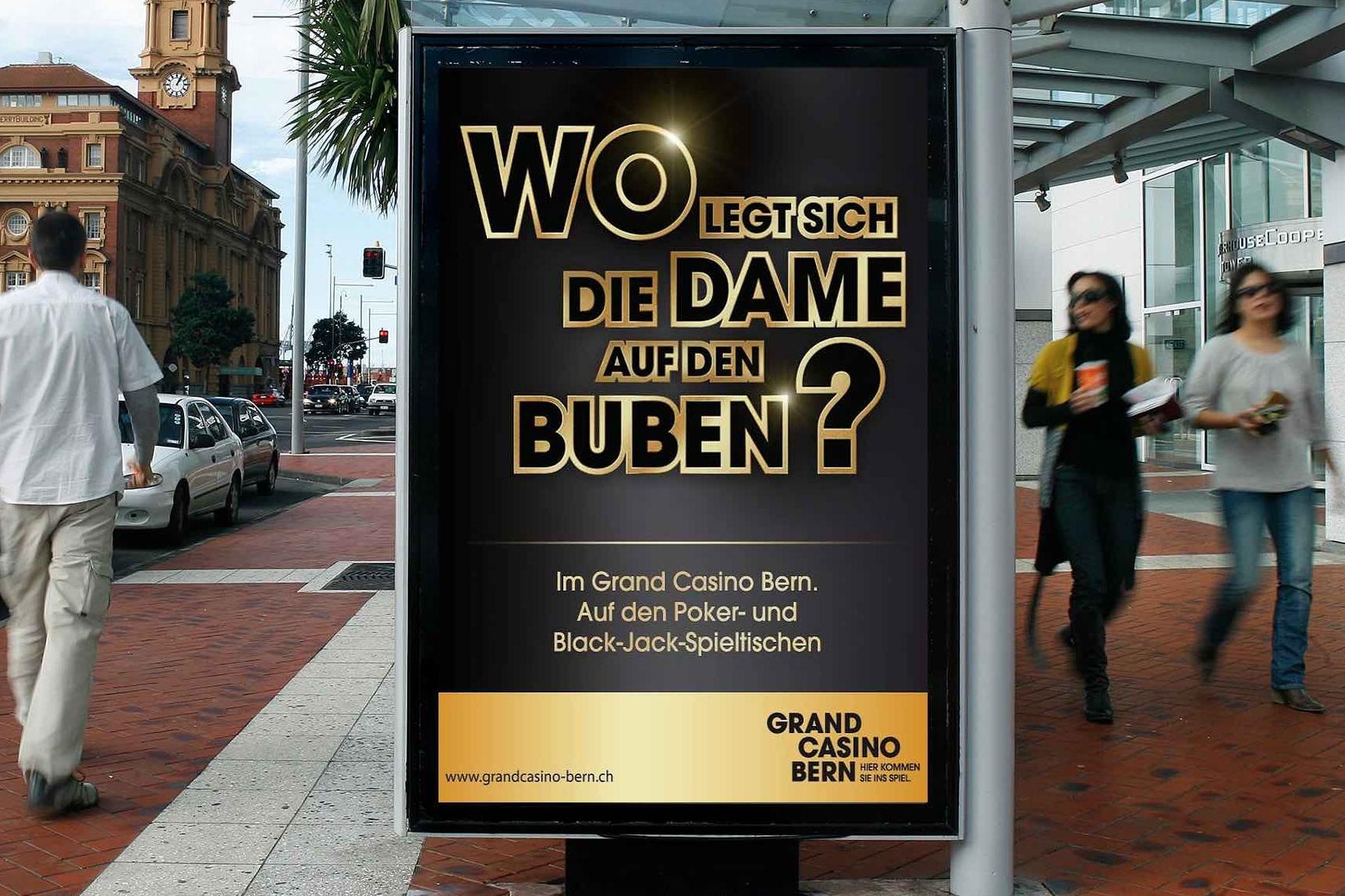 Grand Casino Bern Imagekampagne 2013: Poker und Black Jack