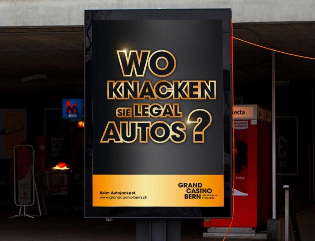Grand Casino Bern Imagekampagne 2013: Auto Jackpot