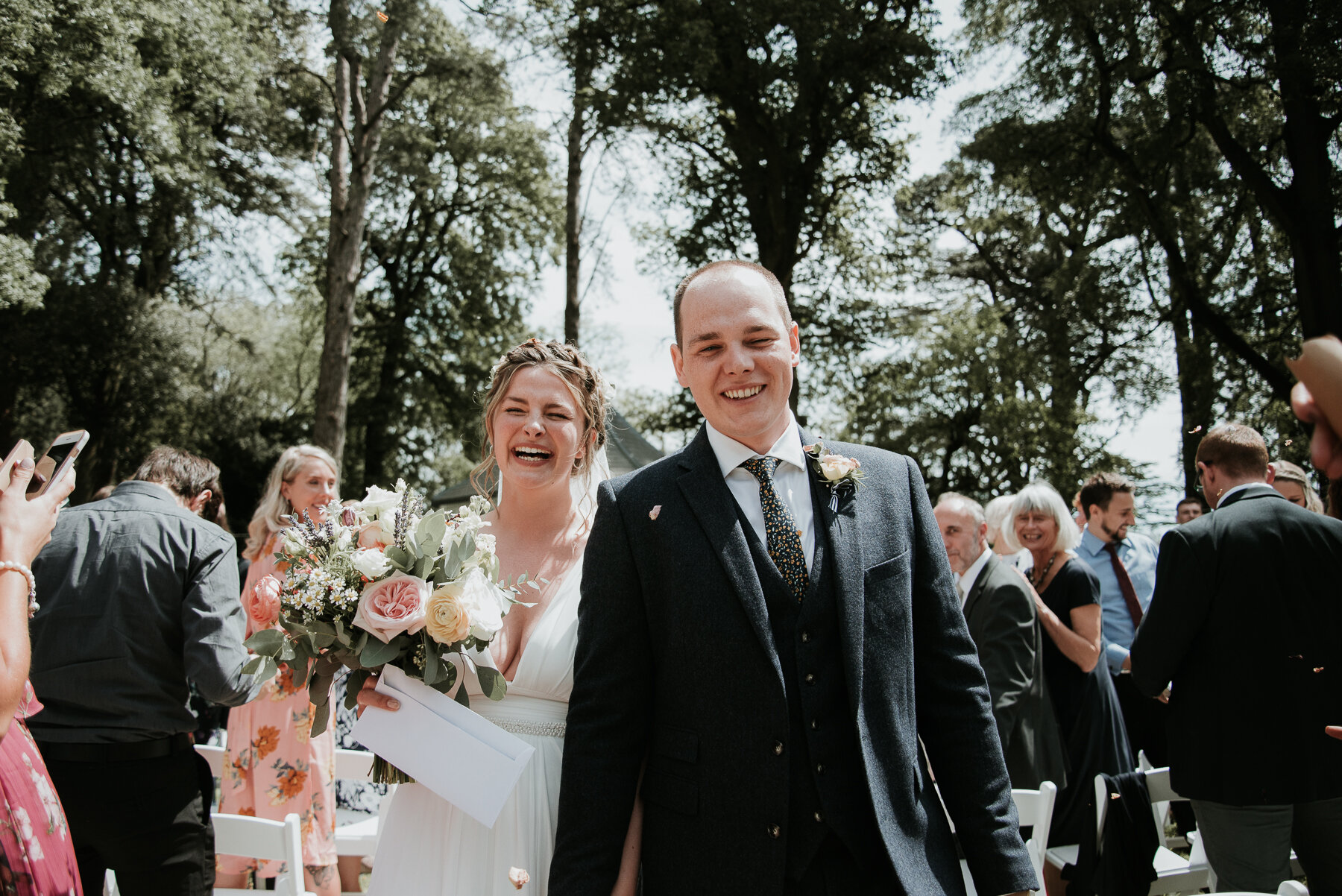 Tracey Estate wedding | Devon wedding photographer
