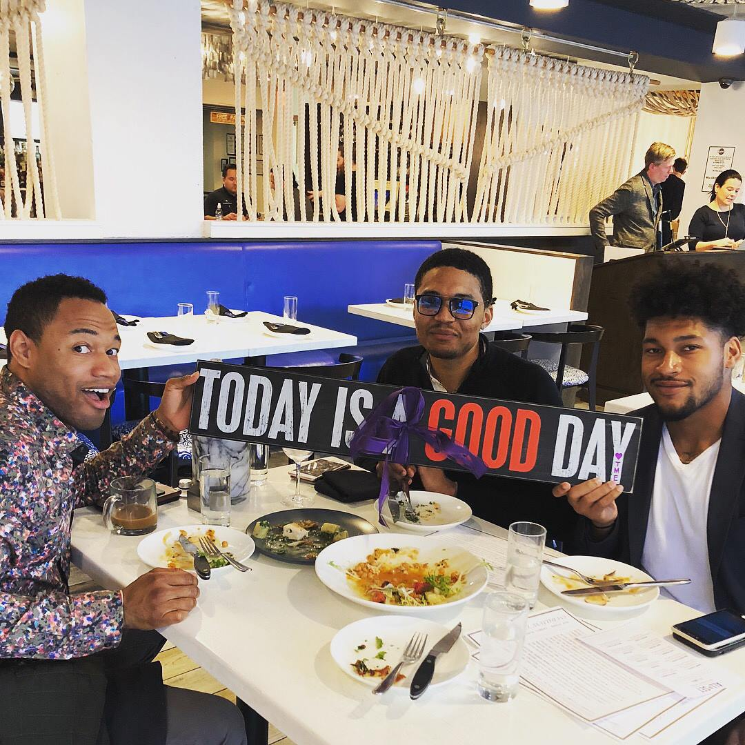 From left to right, GOODProjects founders Danny Wright, Darius Baxter, and Troye Bullock.