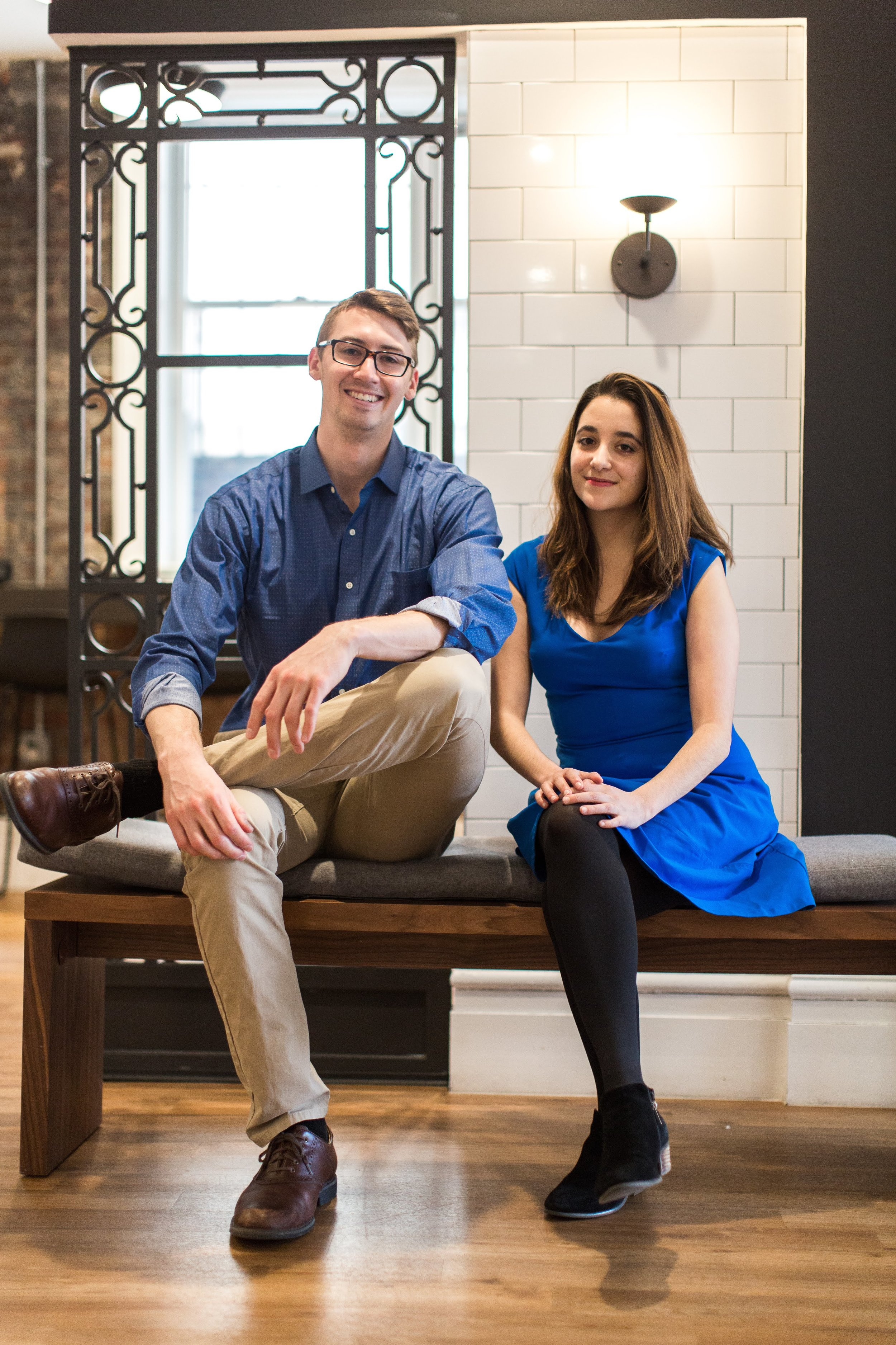 Mission Collaborative co-founders, Grant Schroll and Erica Soultanian.