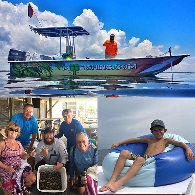 Check out our Facebook page to learn how to win a scalloping  trip with Marker 1 charters!  #ckdp #marker1 #scalloping #charters #seahagmarina
