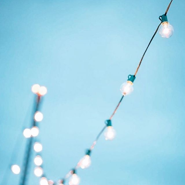 💎 Into the Blue 💎 . . . #festoonlights are a favourite of ours - the perfect addition inside or outside for a warm glow that feels relaxed yet elegant 💡