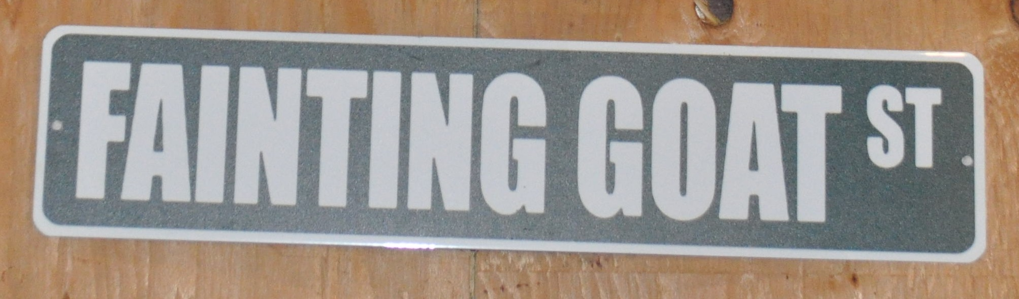 Fainting Goat St Sign Only.jpg