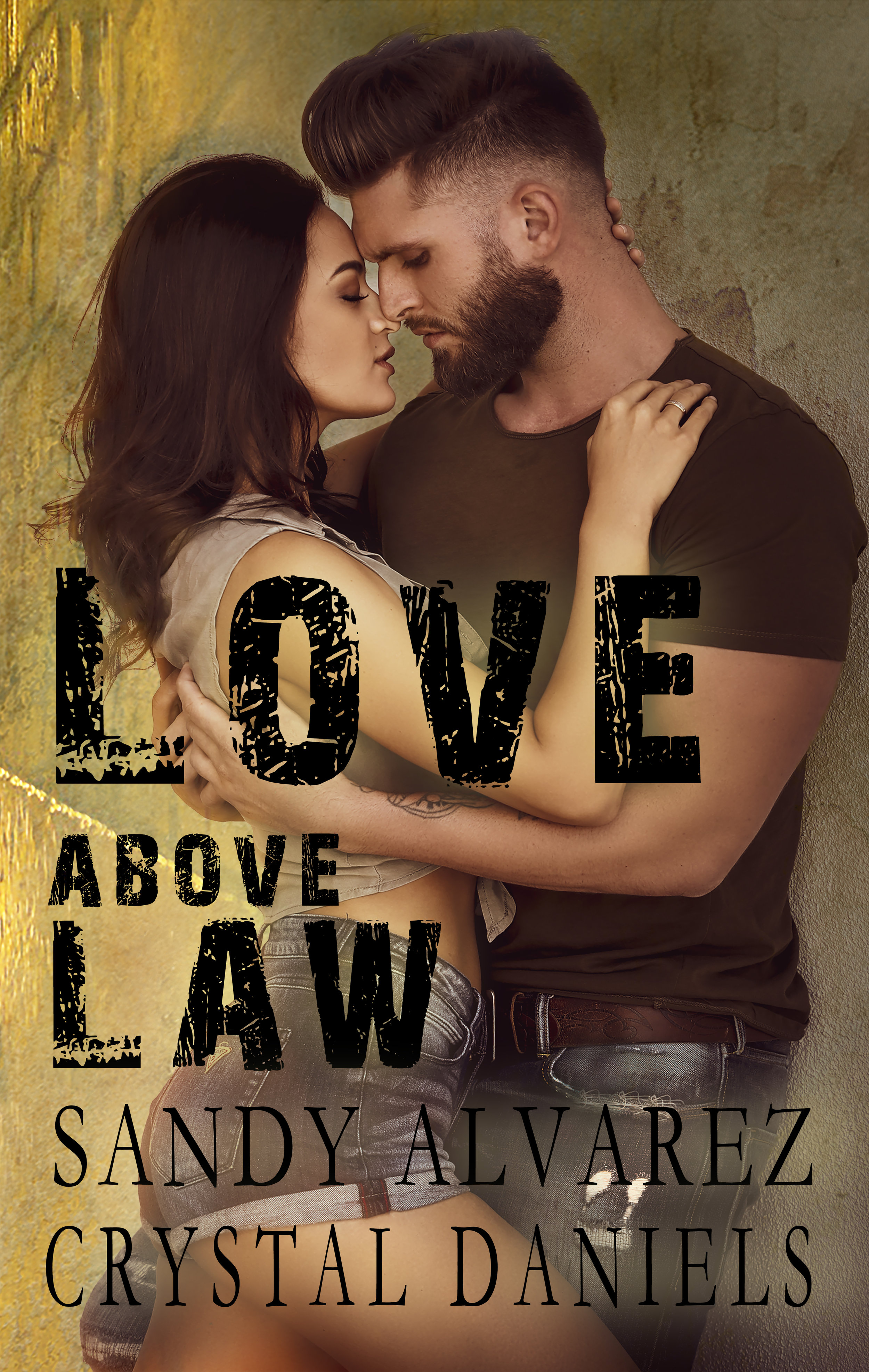 LOVE ABOVE LAW - Agent Lex Taylor~My assignment—take down human and drug trafficker Miguel Santino and rescue Leyna Martinez, the sister of an outlaw MC member.One look.That's all it took.My center of gravity shifted, and I knew. She was going to be mine.I take down criminals; the rats of society. I eat, sleep and breath the law, but I'm willing to risk it all—my badge and my life to protect her.
