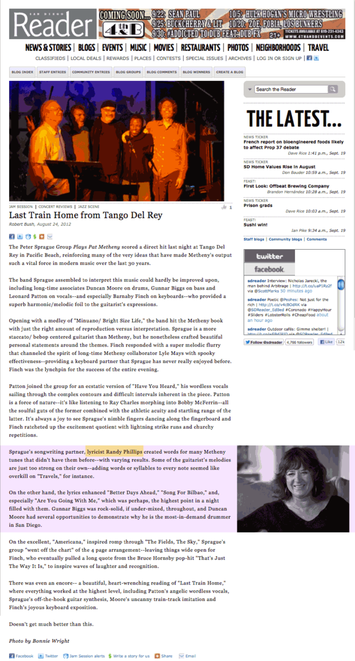 NORTH PARK NEWS: MAKING FOLK MUSIC THAT SOOTHES THE SOUL  BY JUSTINA LY, NOVEMBER 2004