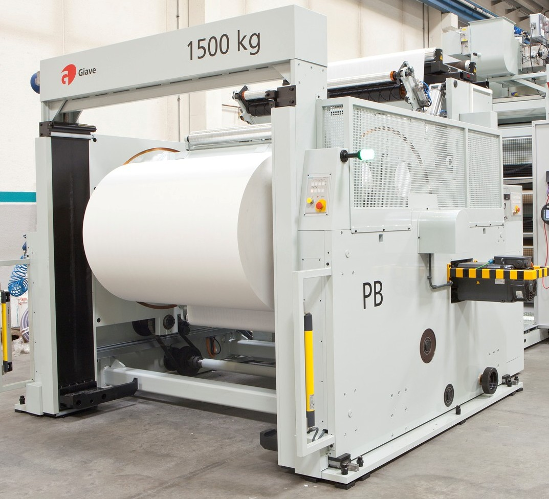 """50"""" Flying splice turret with 1500 kg lift can be installed and integrated inline to your existing flexo or gravure press equipment for greater efficiency in productivity"""