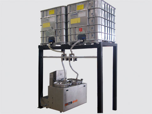 Multiple configurations available including gravity fed high volume or automatic drum transfer -